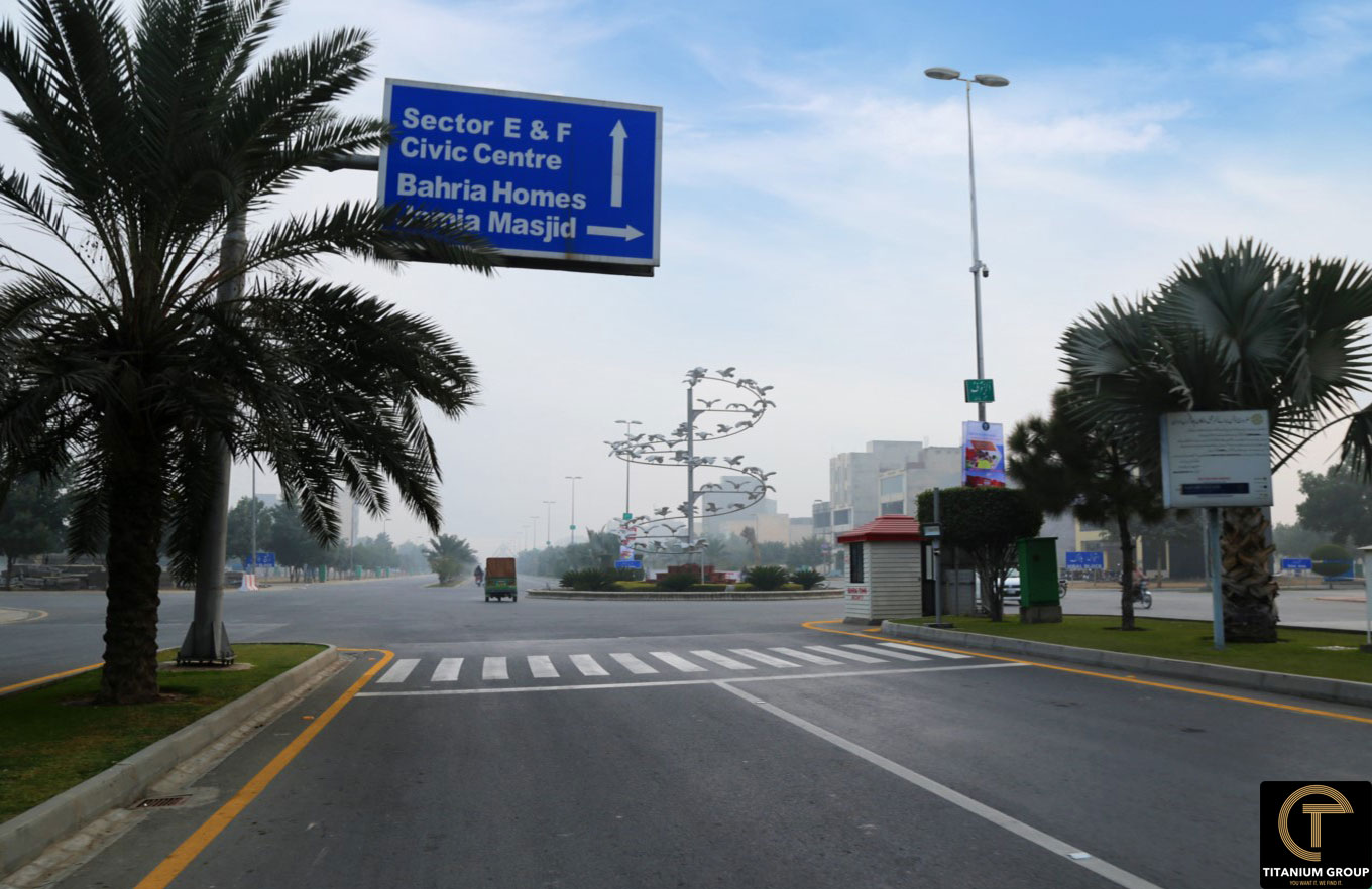 10 Marla Plot For Sale in Talha Block Sector E Bahria Town Lahore