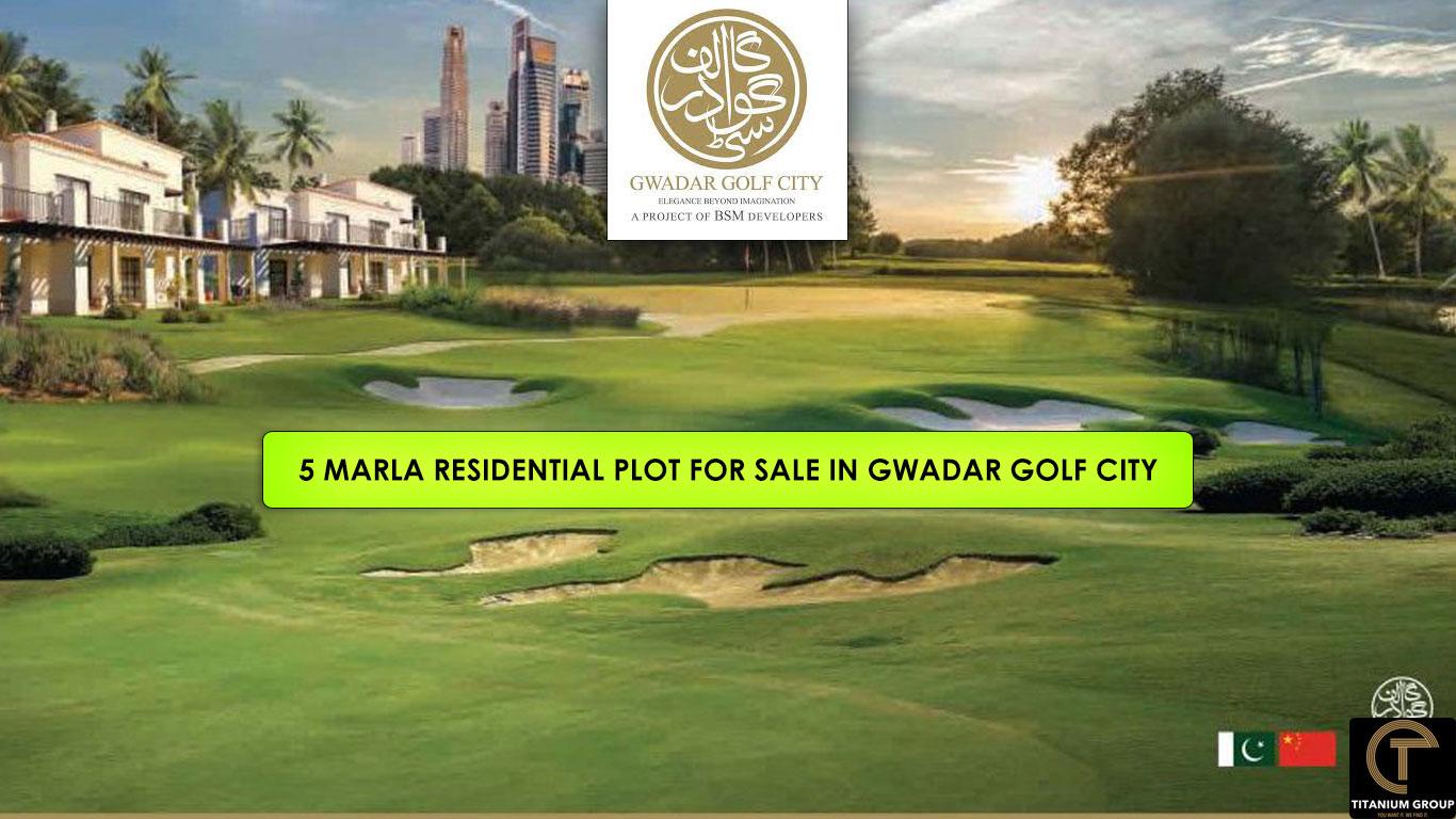 5 Marla Residential Plots for Sale on Installments in Gwadar Golf City