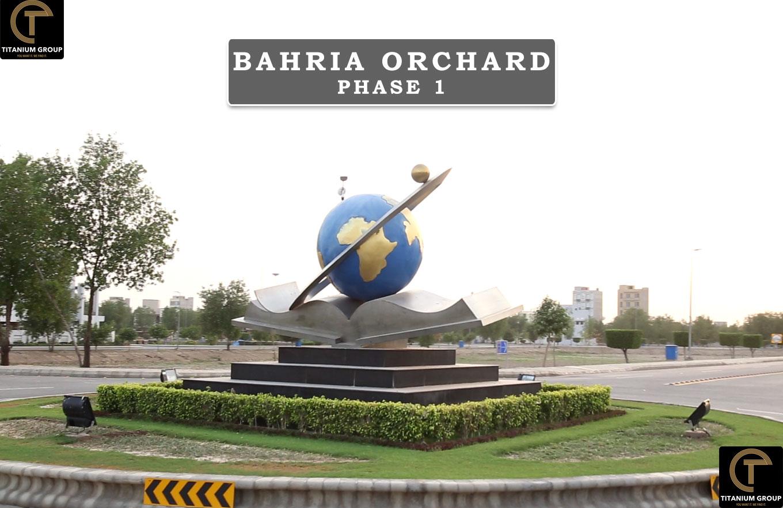 8 marla plot for saleBahria Orchard Phase 1