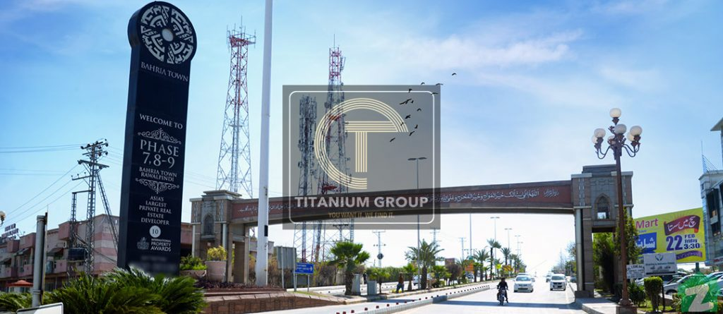 bahria Town phase 8 business district
