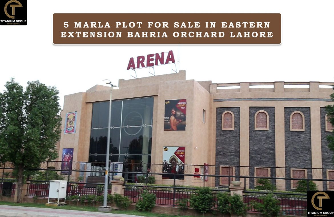 Eastern Extension Bahria Orchard Lahore 5 Marla Plot For Sale In