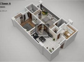 Grand Millennium Islamabad Apartment Floor Plan Two Bed Apartments