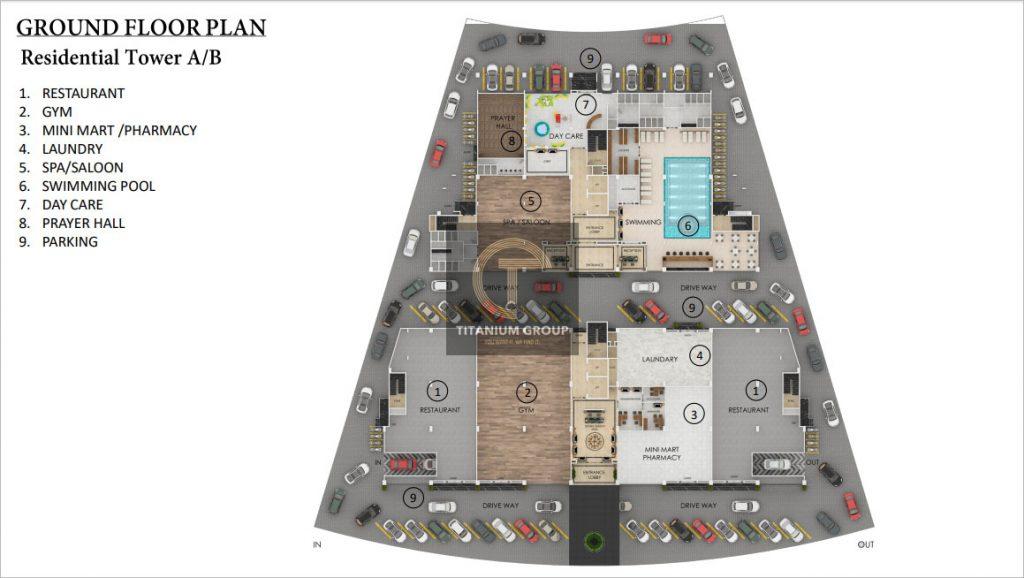 Grand Millennium Islamabad Ground Floor Plan