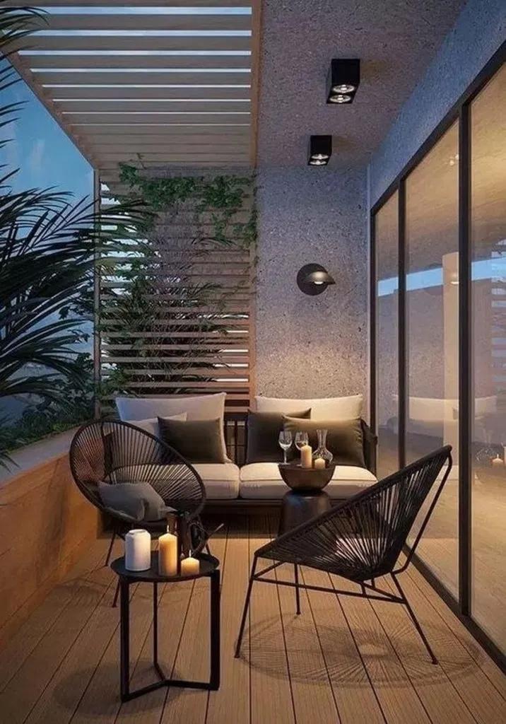 marina apartment balcony